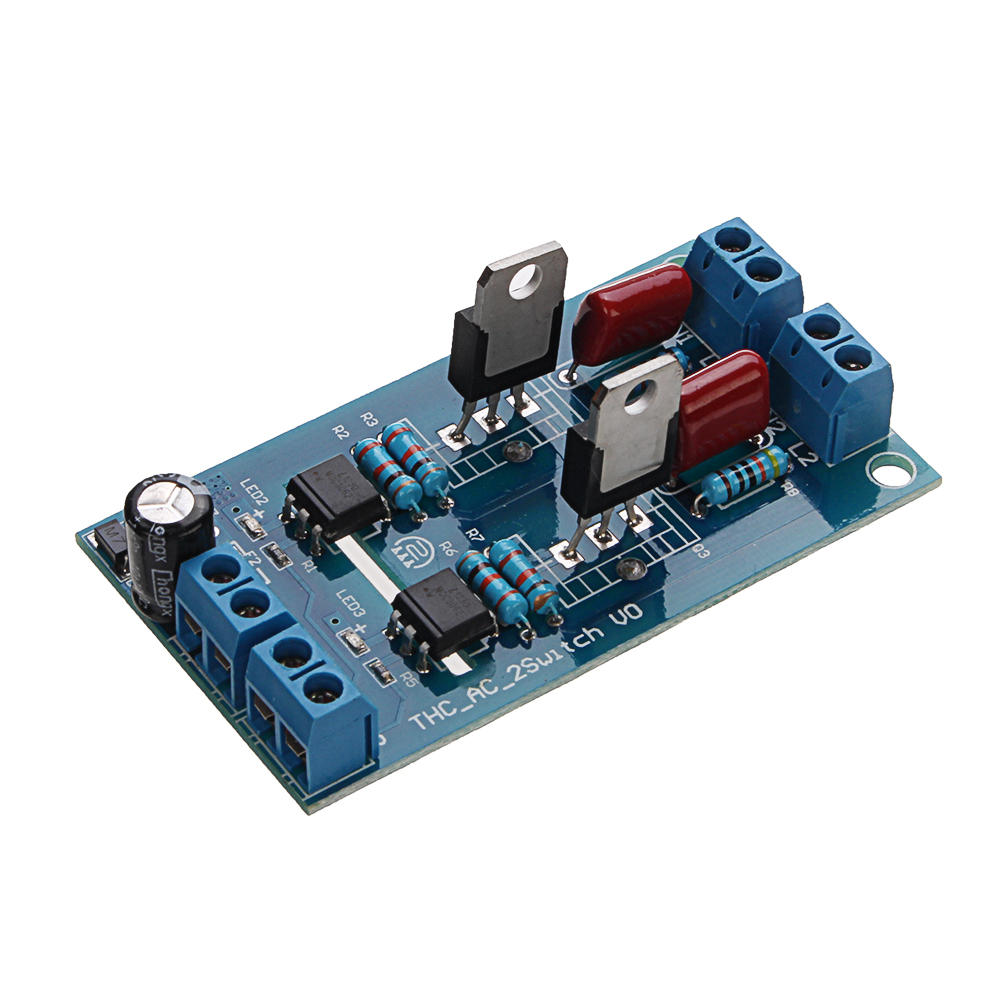 2CH Channel PLC DC Output Transistor Amplifier Isolation Plate Board