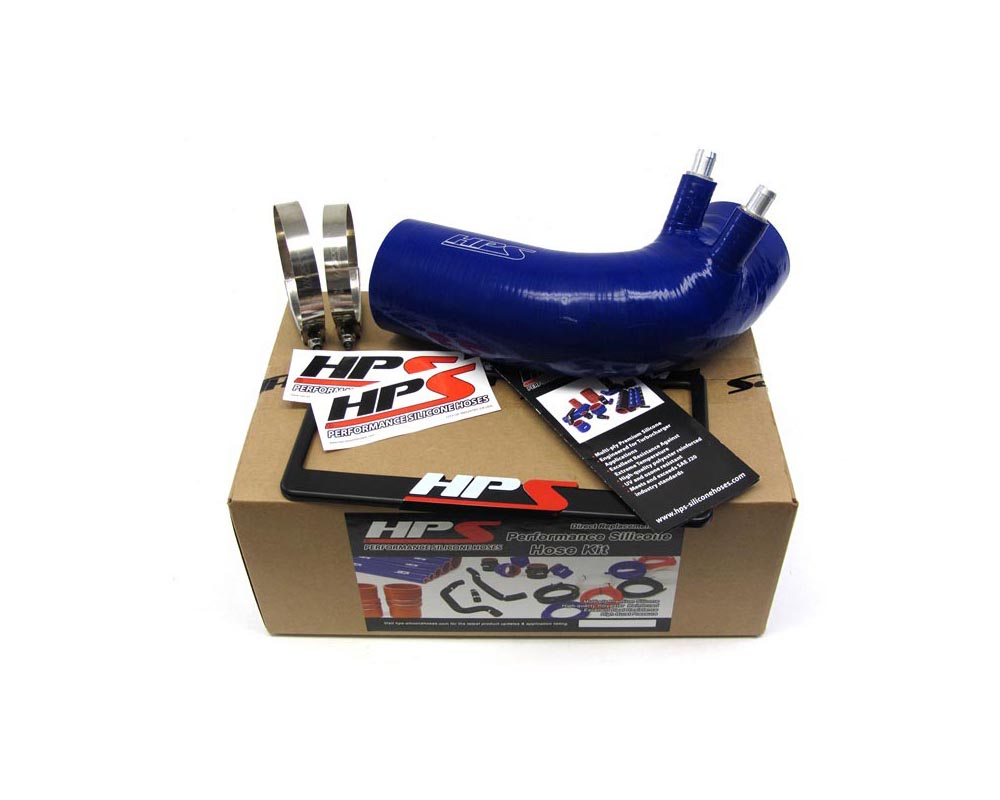 HPS Blue Reinforced Silicone Post MAF Air Intake Hose Kit for Lexus 2016 GSF GS F V8 5.0L