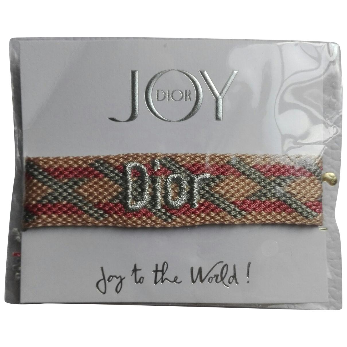 Dior \N Armband in  Bunt Leinen