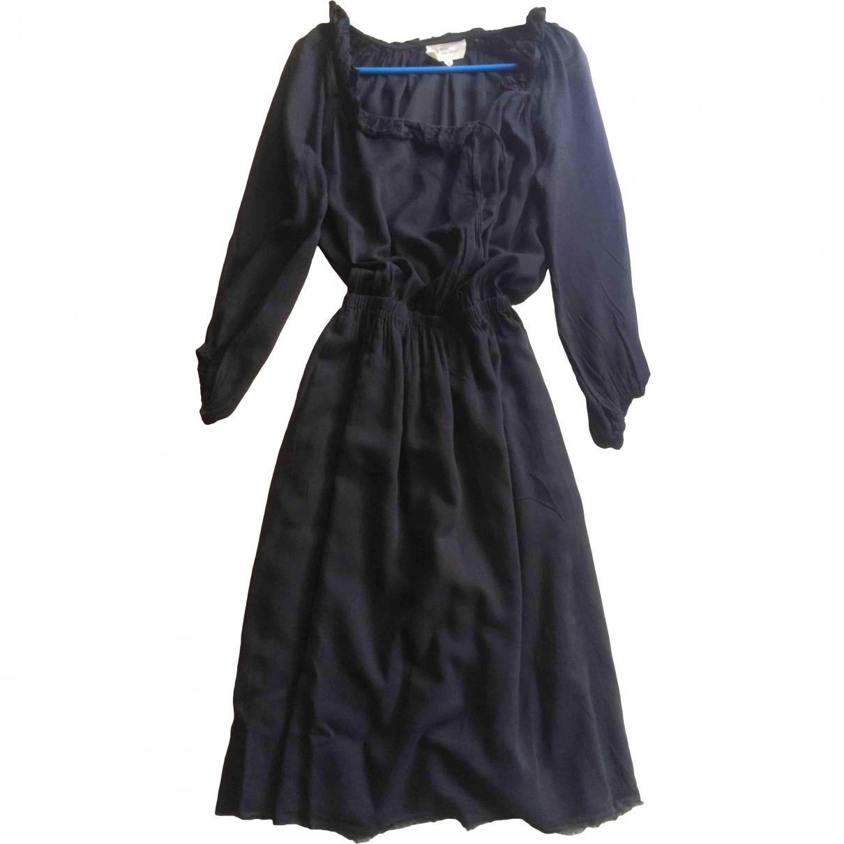Isabel Marant Etoile - Robe   pour femme en coton - bleu