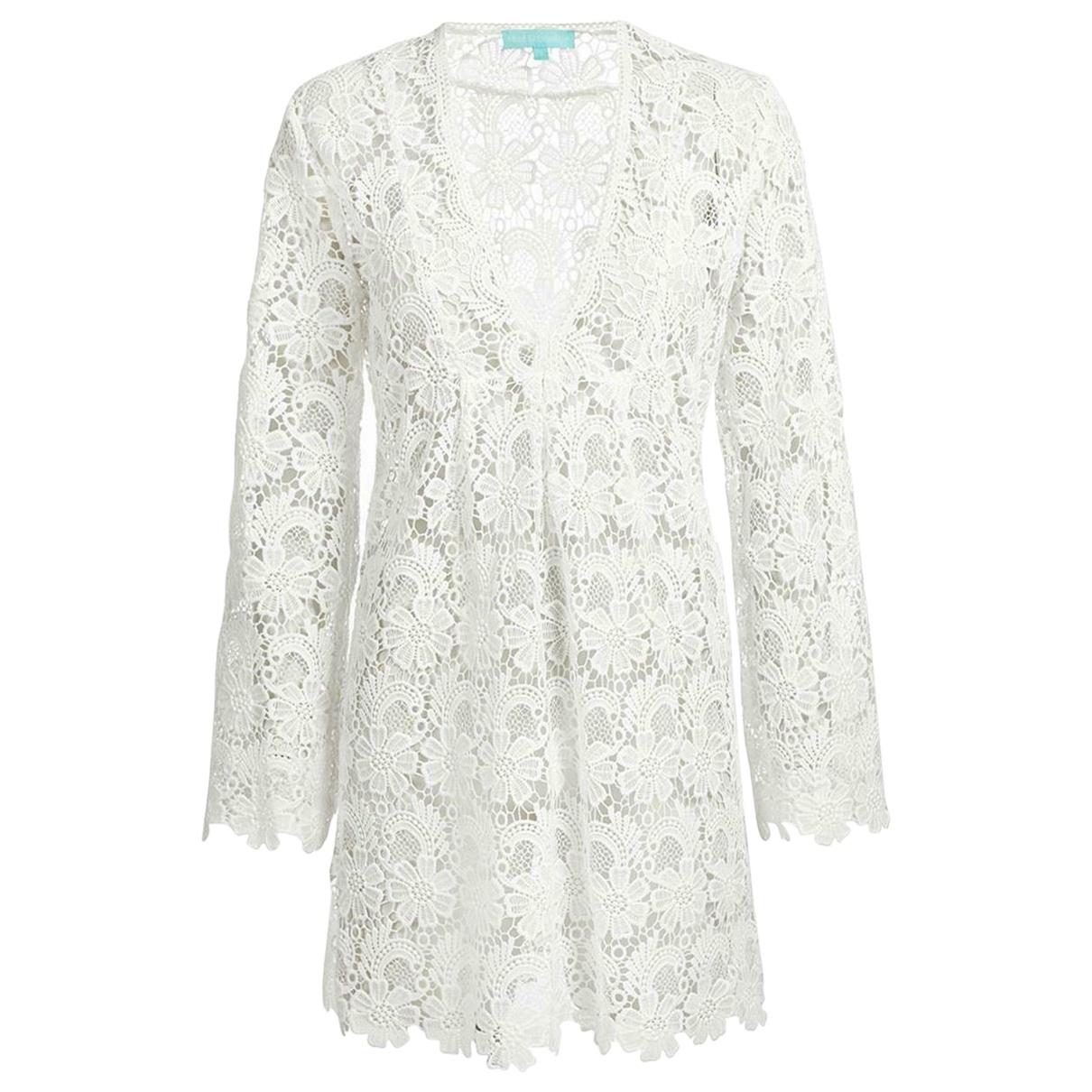 Melissa Odabash - Robe   pour femme en coton - blanc