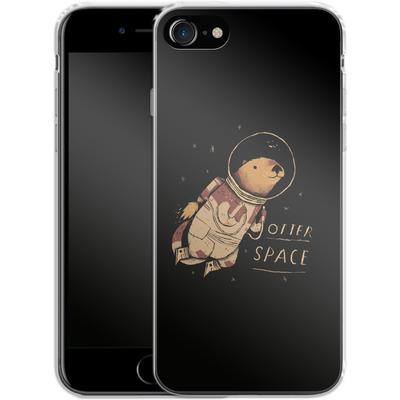 Apple iPhone 7 Silikon Handyhuelle - Otter Space von Louis Ros