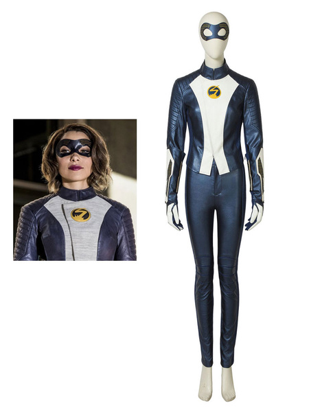 Milanoo The Flash 5 Nora Allen Halloween Cosplay Costume
