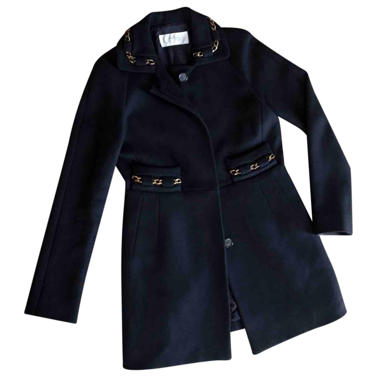 Chloé \N Black Wool coat for Women S International