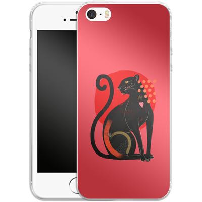 Apple iPhone 5 Silikon Handyhuelle - Spirit Animal von Victoria Topping