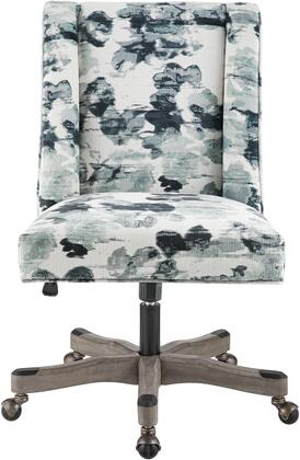 OC122MIRA01U Draper Office Chair  in Blue Mira