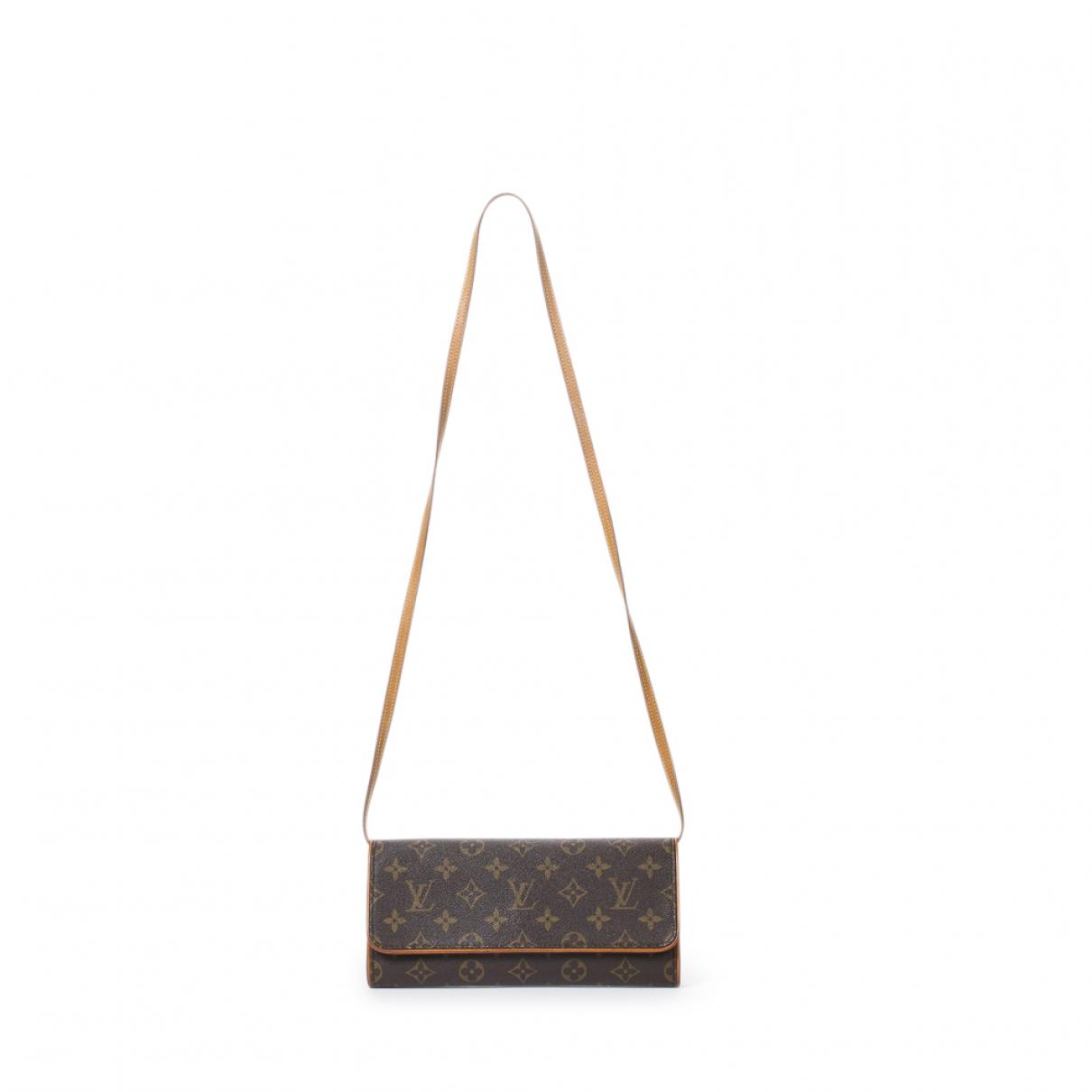 Louis Vuitton Twin Brown Leather handbag for Women \N