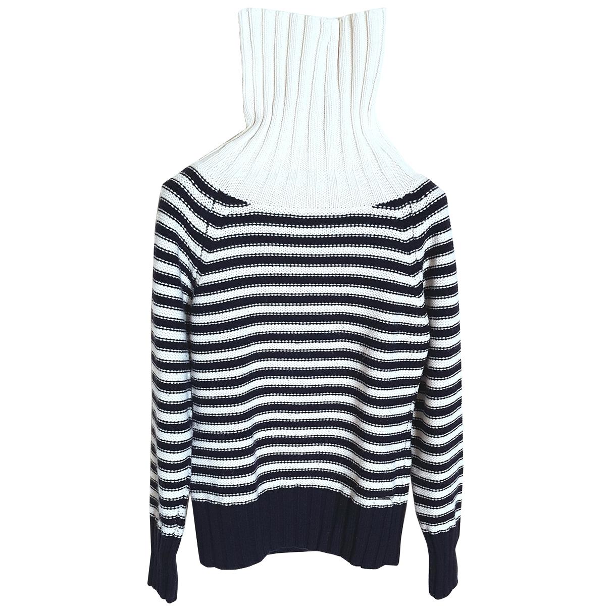 Armani Jean - Pull   pour femme en laine - multicolore