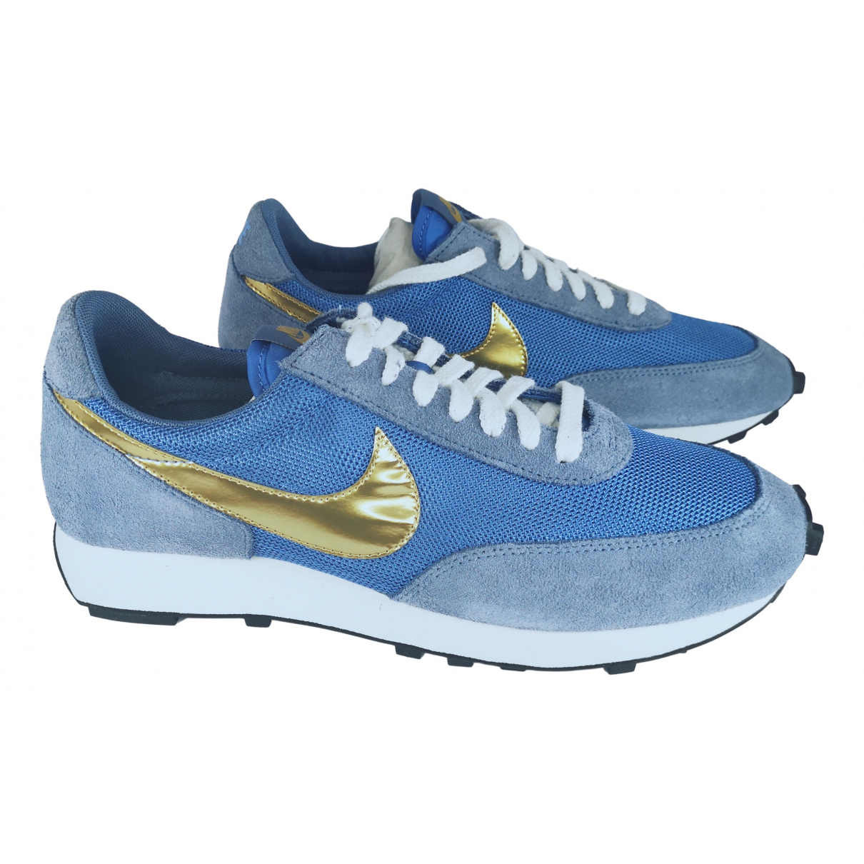 Nike N Blue Cloth Trainers for Men 44.5 EU