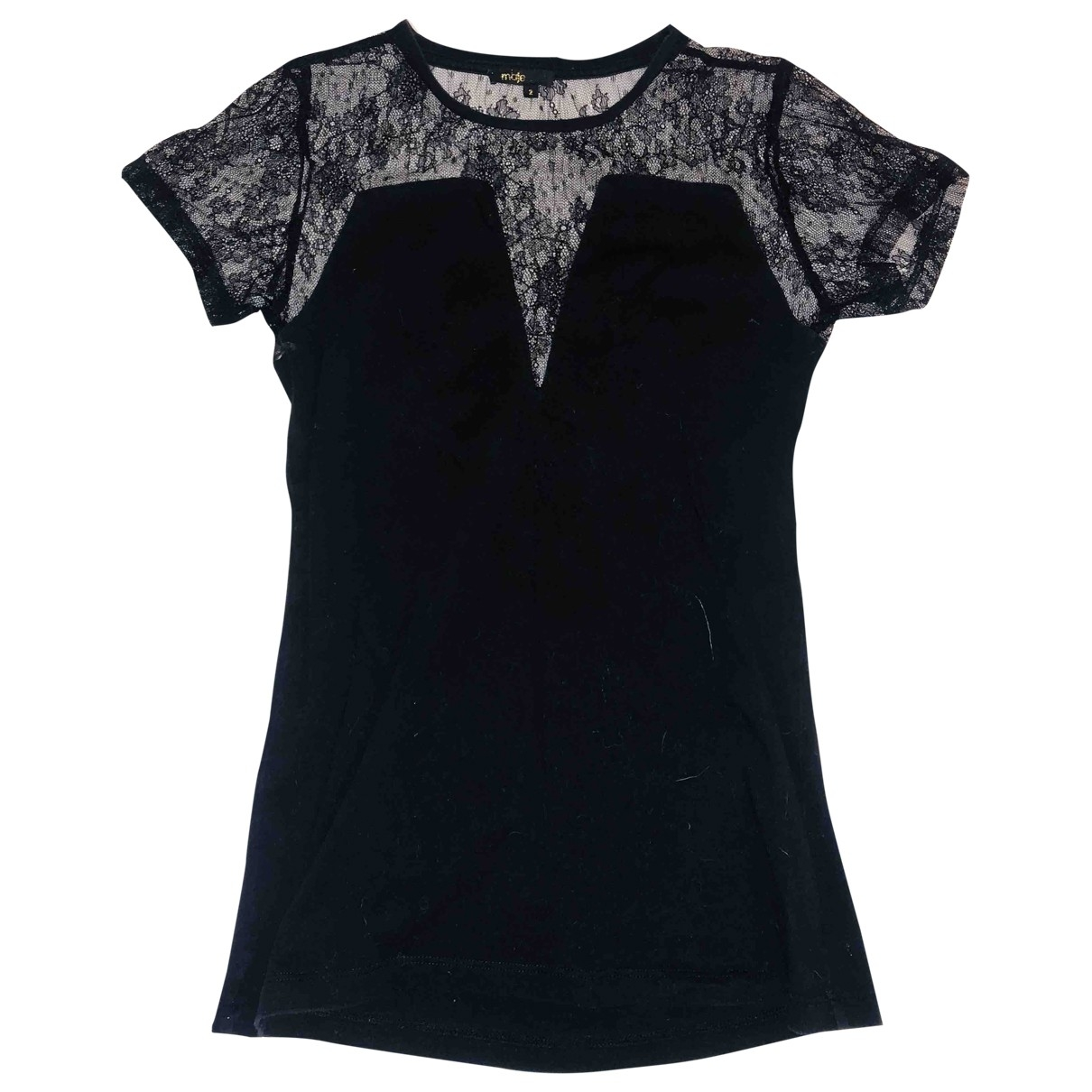 Maje \N Black Lace  top for Women 10 UK