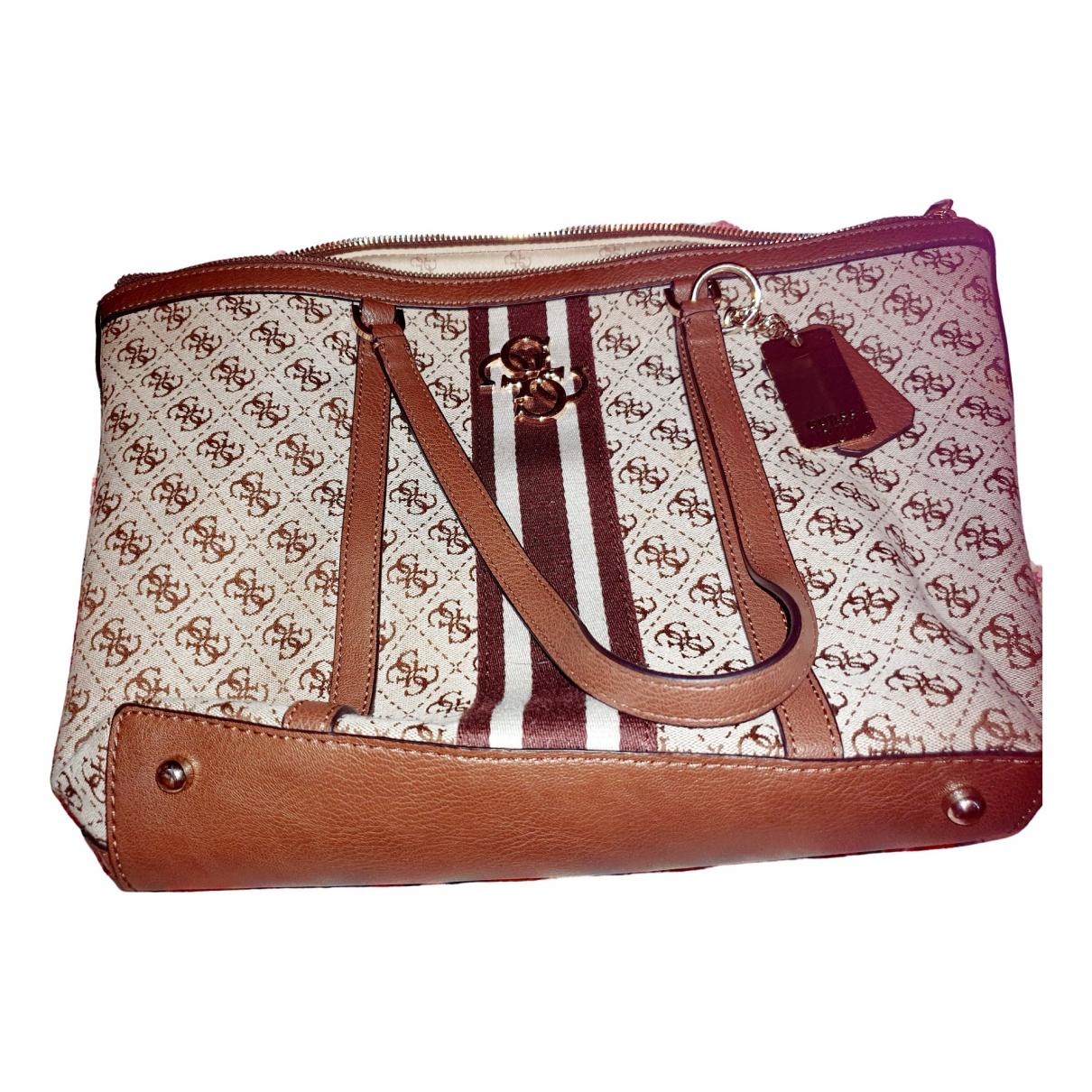 Guess \N Beige handbag for Women \N