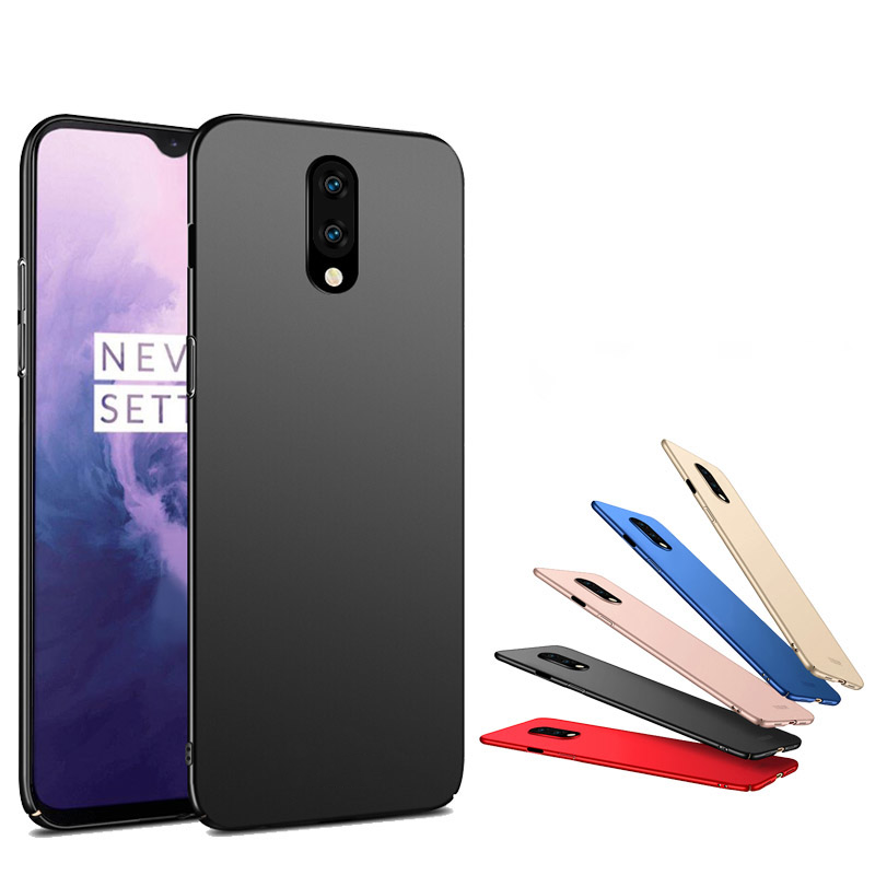 Mofi Frosted Ultra-Thin Anti-Fingerprint Hard PC Protective Case for OnePlus 7