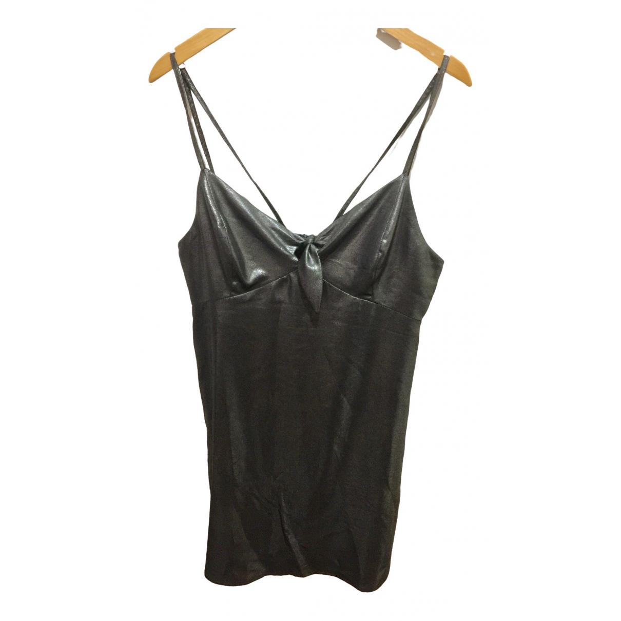 Topshop - Robe   pour femme - argente