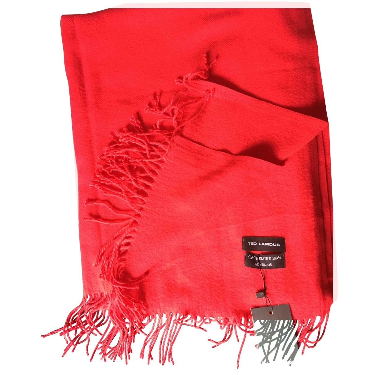 Pañuelo / bufanda de Cachemira Ted Lapidus