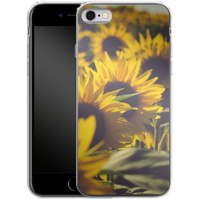 Apple iPhone 6s Silikon Handyhuelle - Sunflower 2 von Joy StClaire