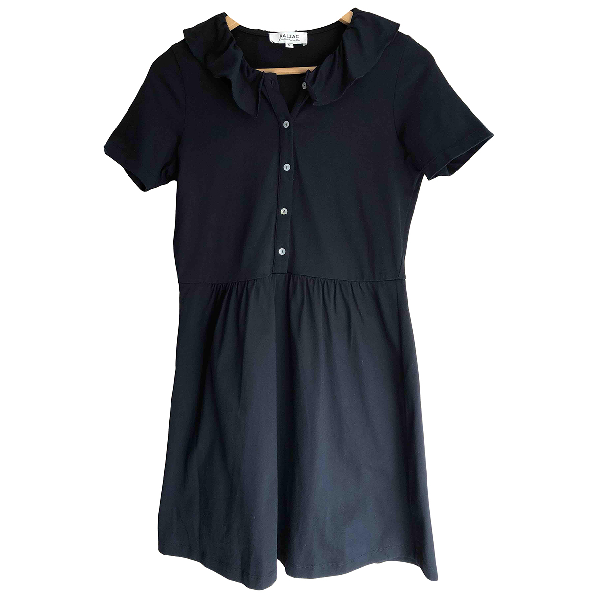 Balzac Paris \N Kleid in  Schwarz Baumwolle