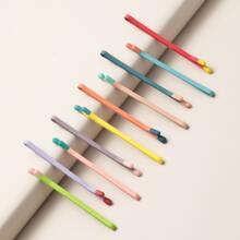 10pcs Colorful Bobby Pin