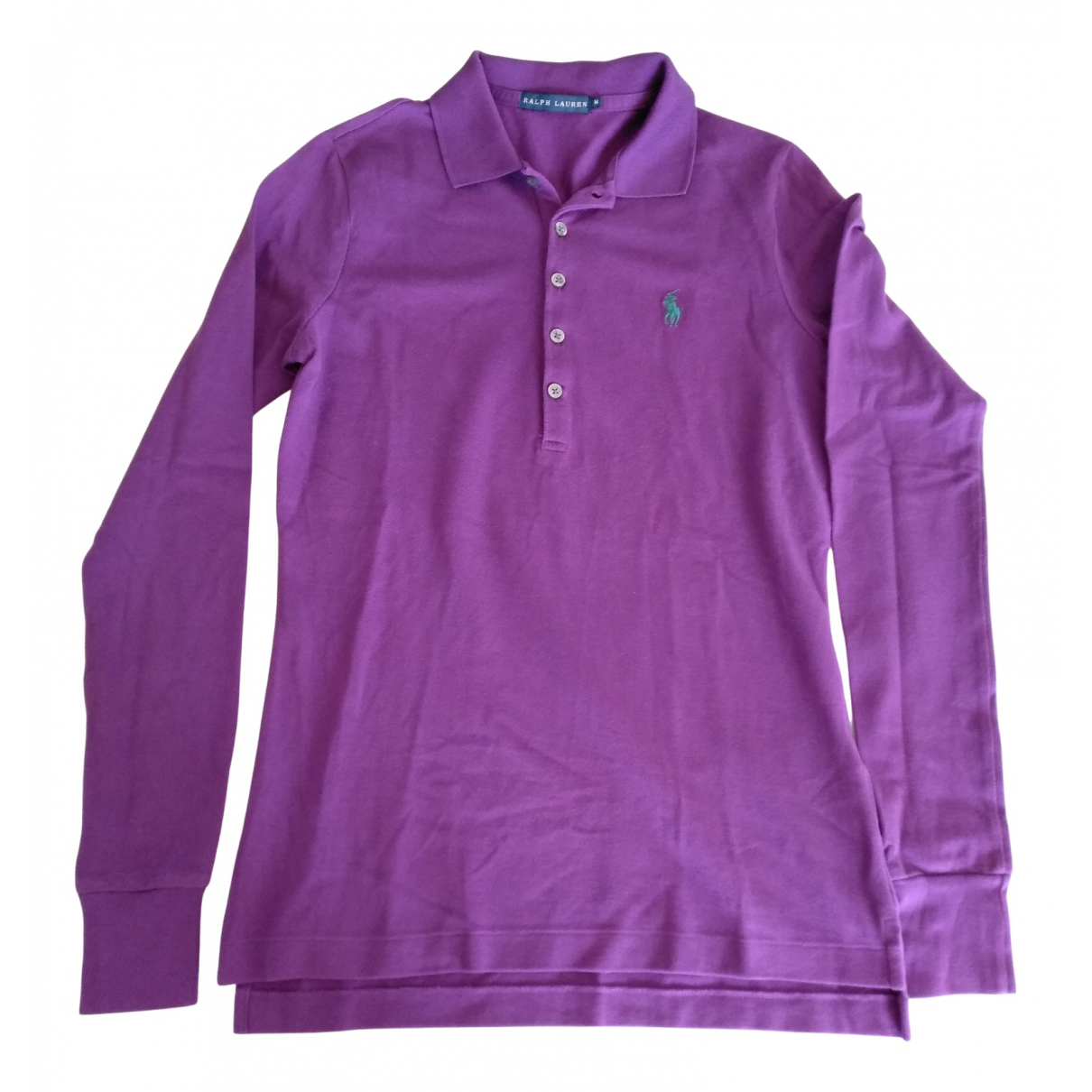 Ralph Lauren - Polos   pour homme en coton - violet