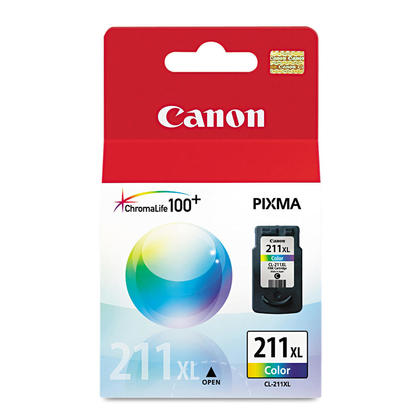 Canon CL-211XL Colour Ink Tank - High Yield Original Cartridge of Canon CL-211