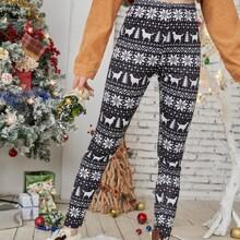Ugly Christmas Pattern Leggings