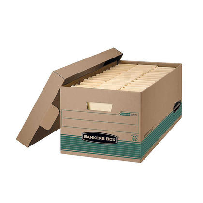 Bankers Box® Recycled STOR/FILE™ File Storage Box - Letter, 12