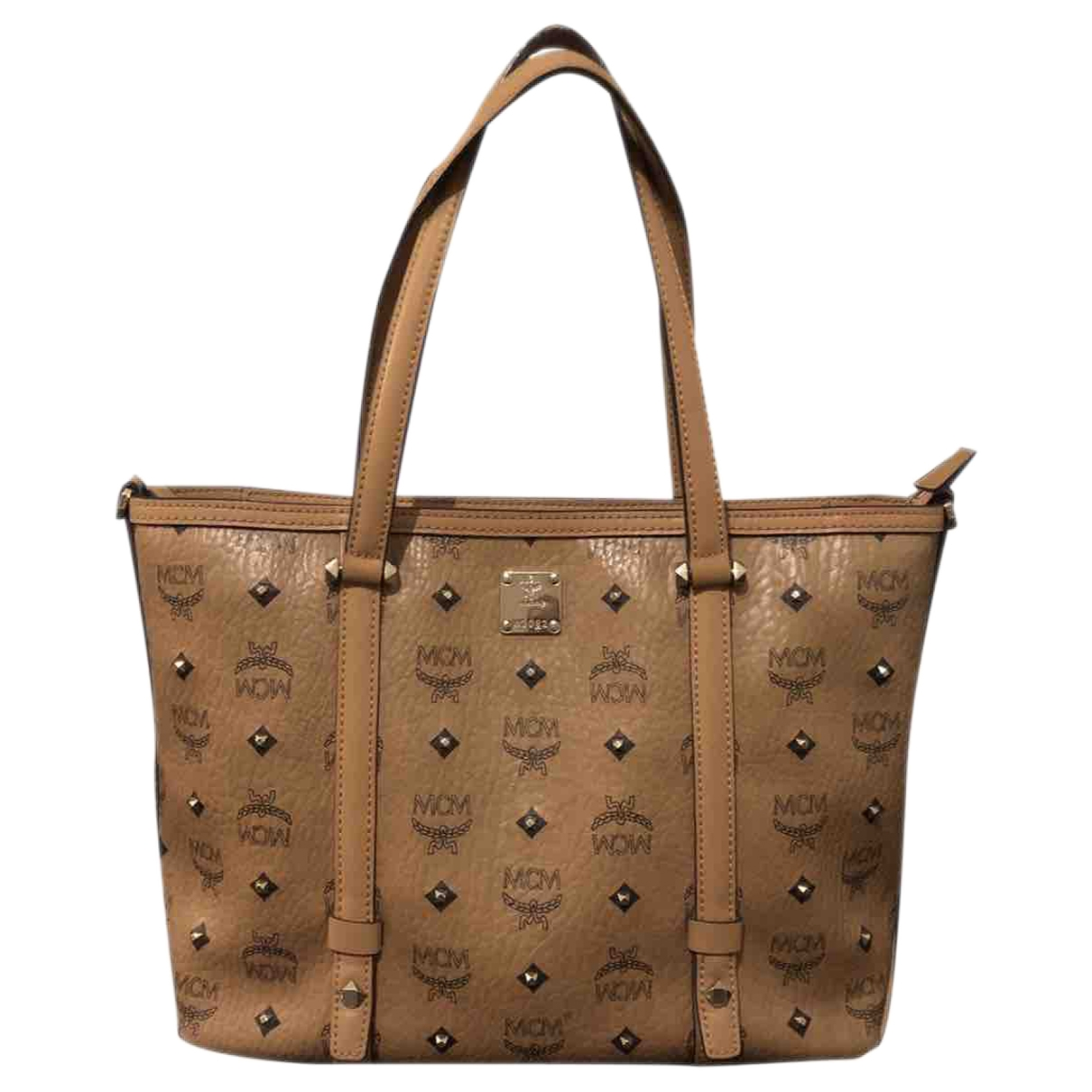 Mcm Anya Brown Leather handbag for Women \N