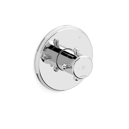 Retro TRT45PN 3-Way Thermostatic/Pressure Balance Coaxial Valve Trim  in Polished