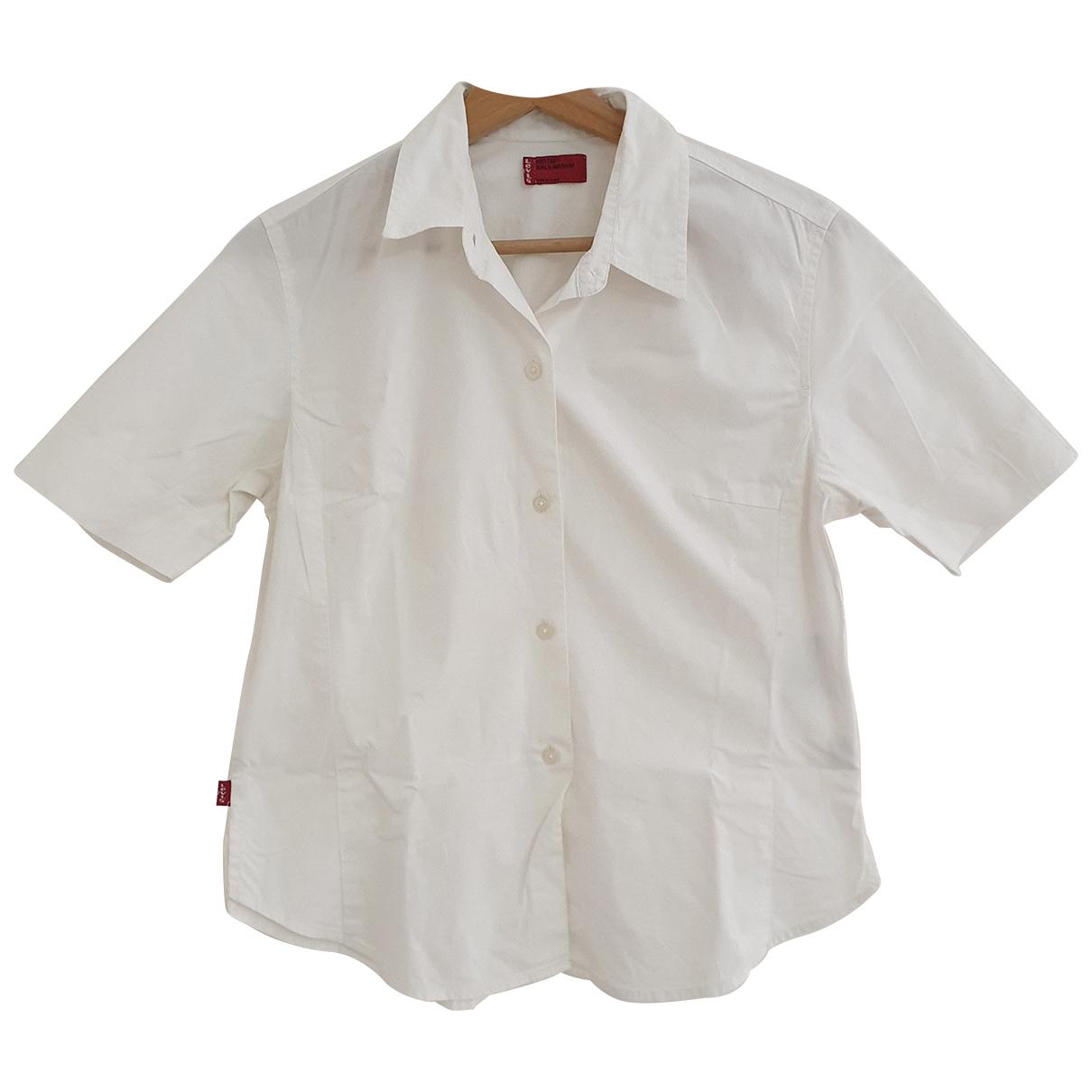 Levi's \N White Cotton  top for Women M International