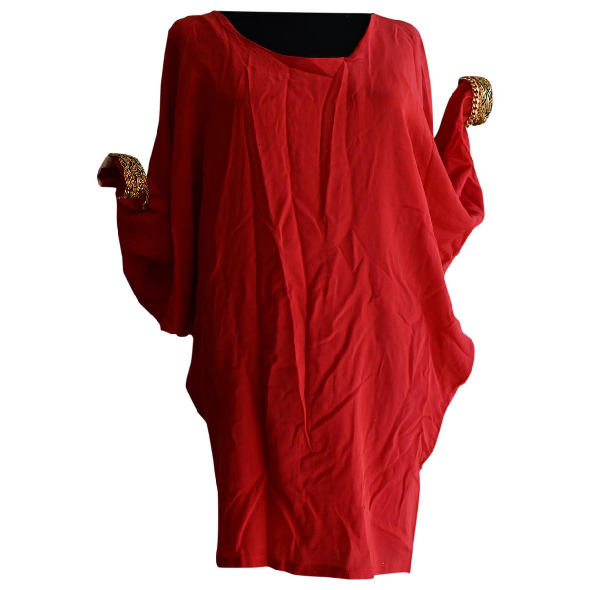 Ella Luna - Top   pour femme en soie - rouge