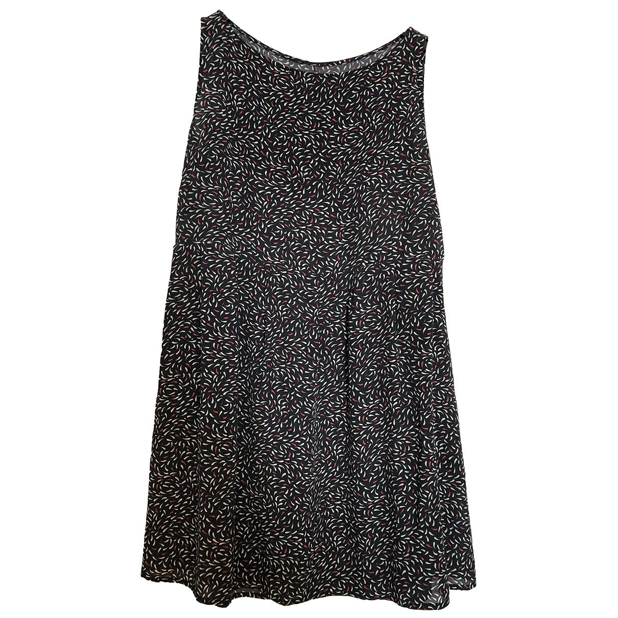 Attic And Barn \N Navy Silk dress for Women 40 FR