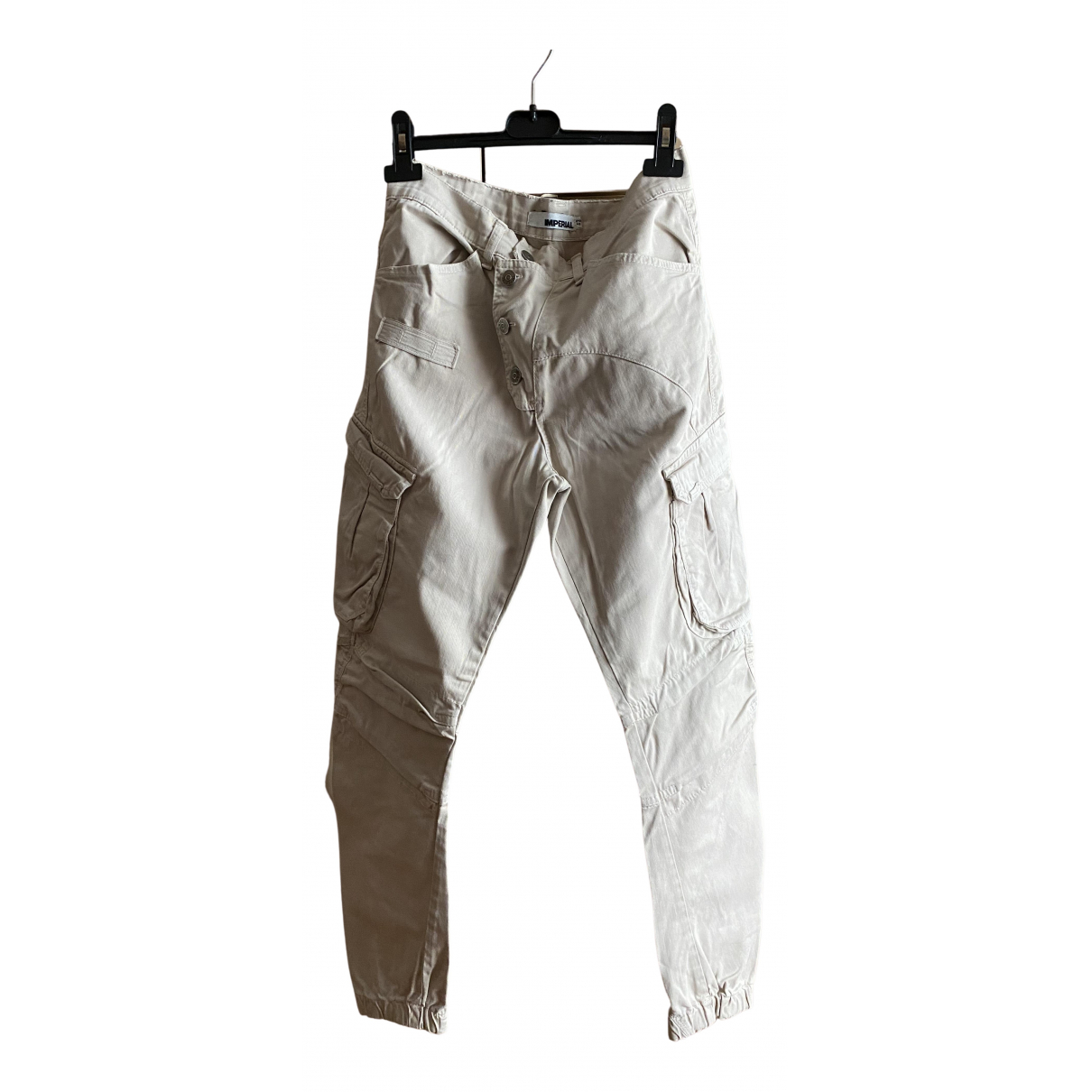 Impérial N Beige Trousers for Men M International