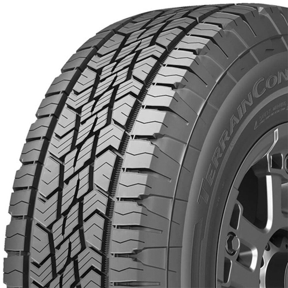 Continental terraincontact a/t P265/70R16 112T owl all-season tire