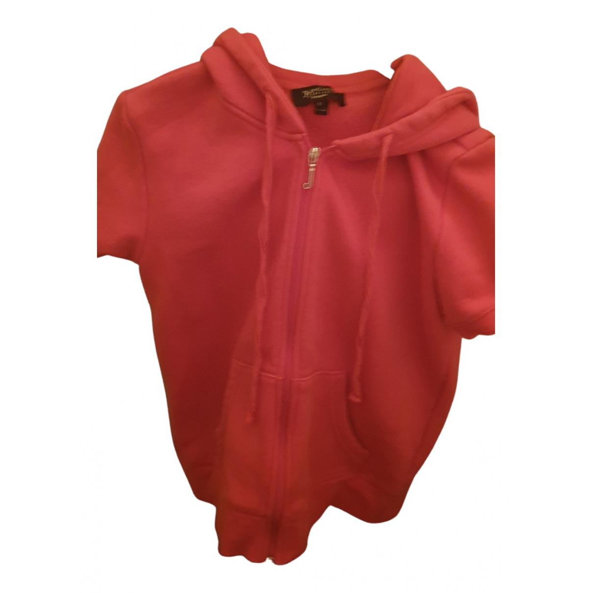 Juicy Couture - Top   pour femme en coton - rouge