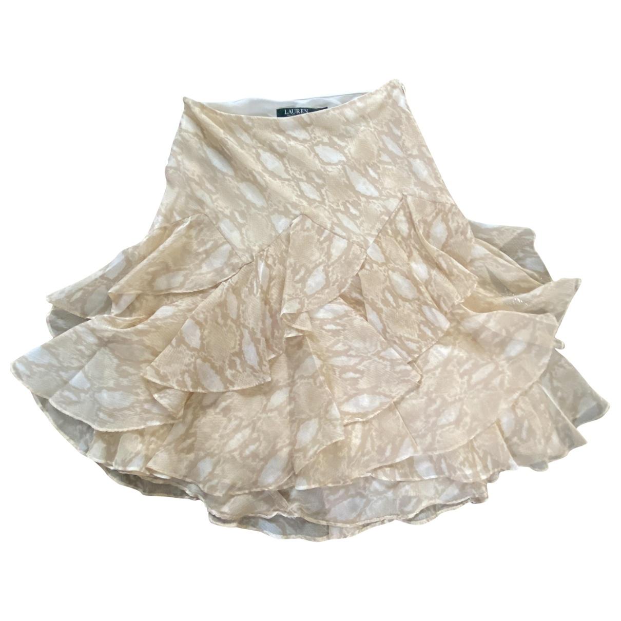 Lauren Ralph Lauren \N Rocke in  Beige Polyester