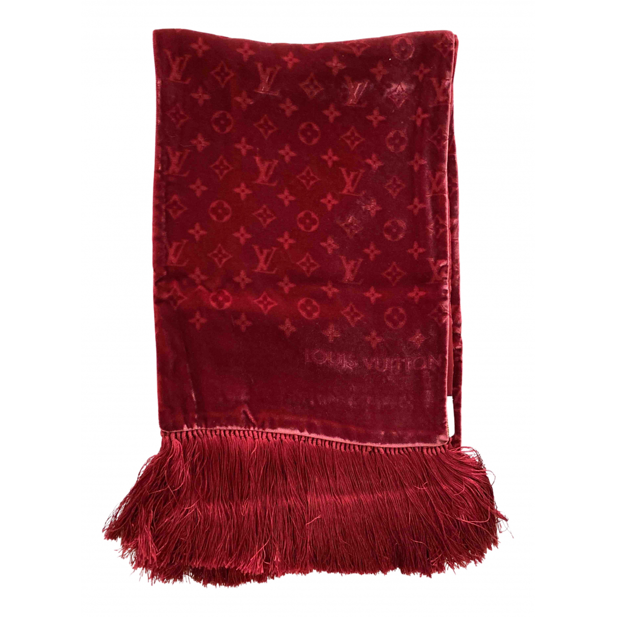 Bufanda de Terciopelo Louis Vuitton