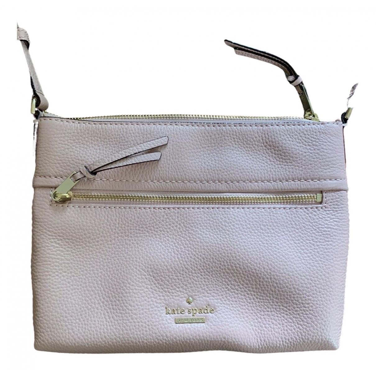 Kate Spade \N Handtasche in  Rosa Leder