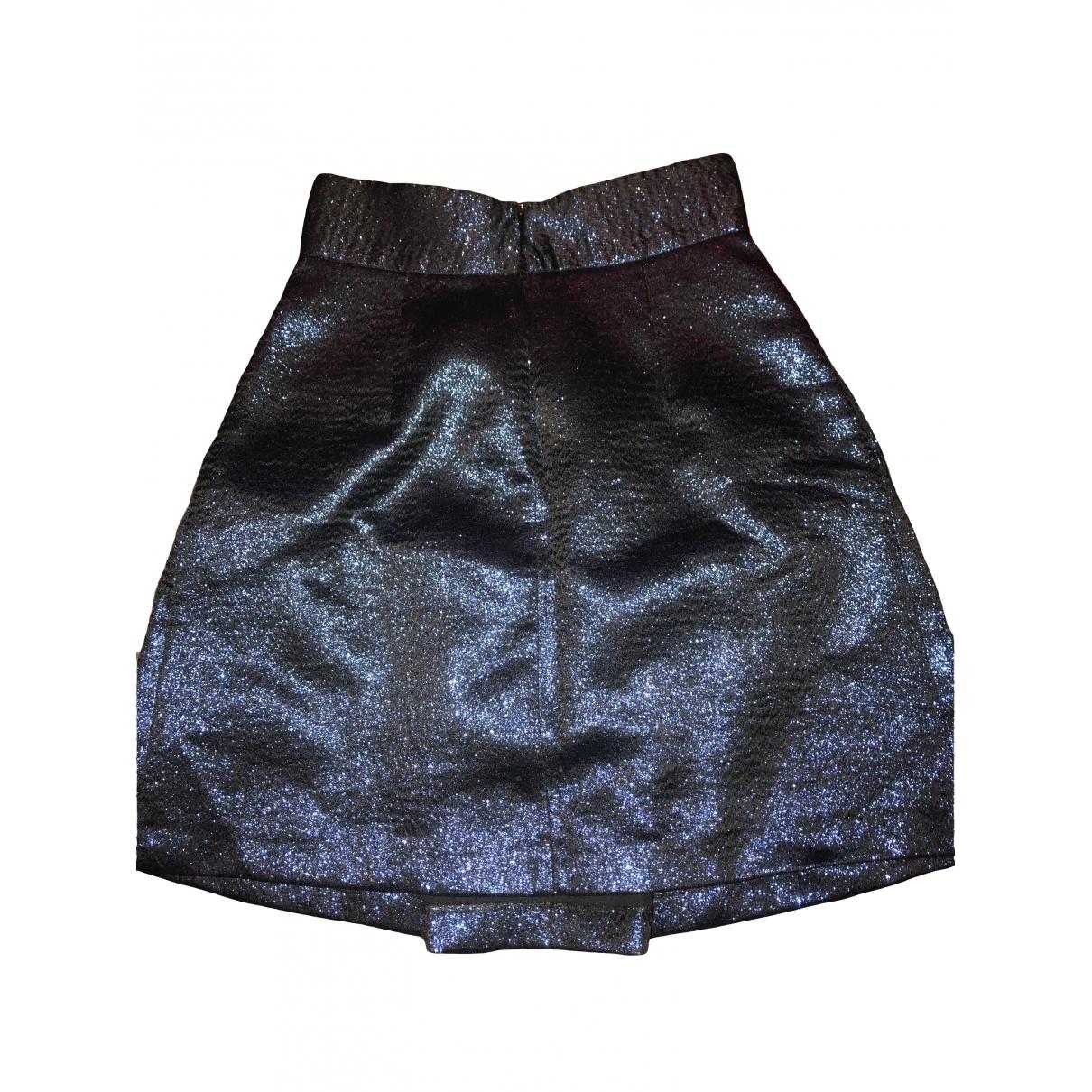 Zara - Jupe   pour femme en a paillettes - bleu