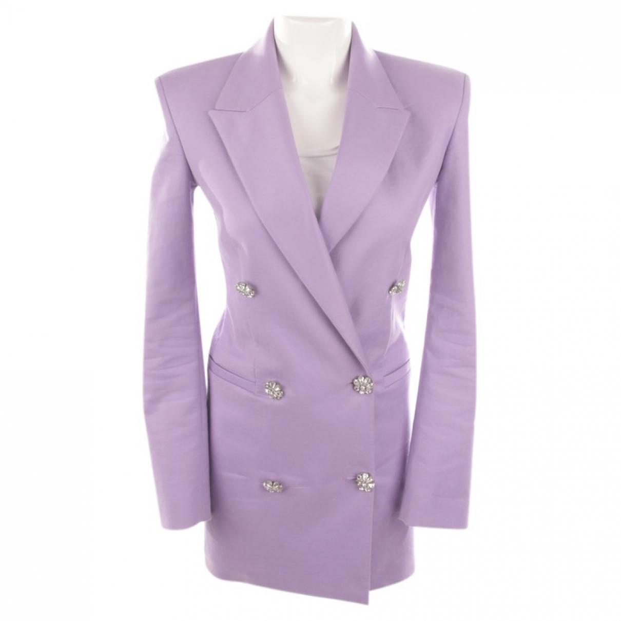 Attico - Veste   pour femme en coton - violet