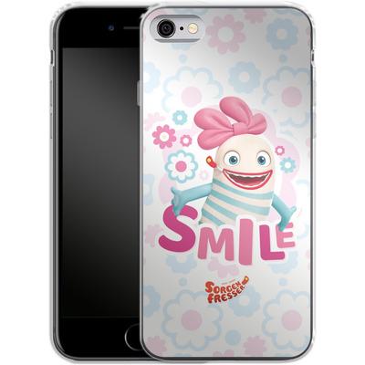 Apple iPhone 6 Silikon Handyhuelle - Sorgenfresser Smile von Sorgenfresser
