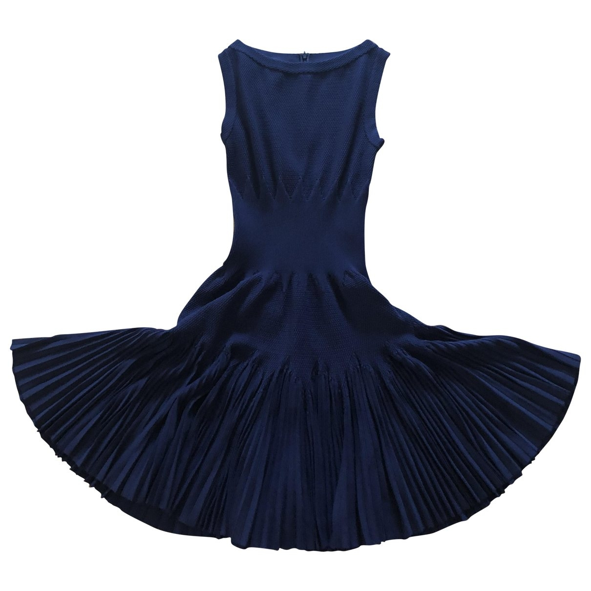 Alaïa \N Navy dress for Women 36 FR