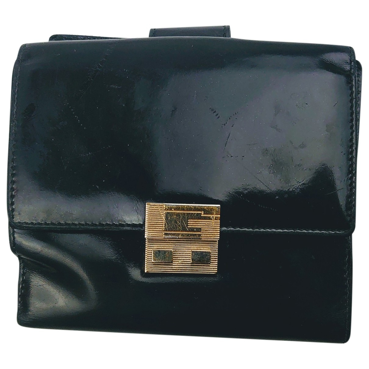 Gucci \N Black Patent leather Small bag, wallet & cases for Men \N