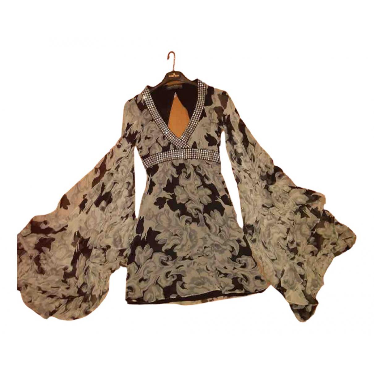 Mini vestido de Seda Jenny Packham