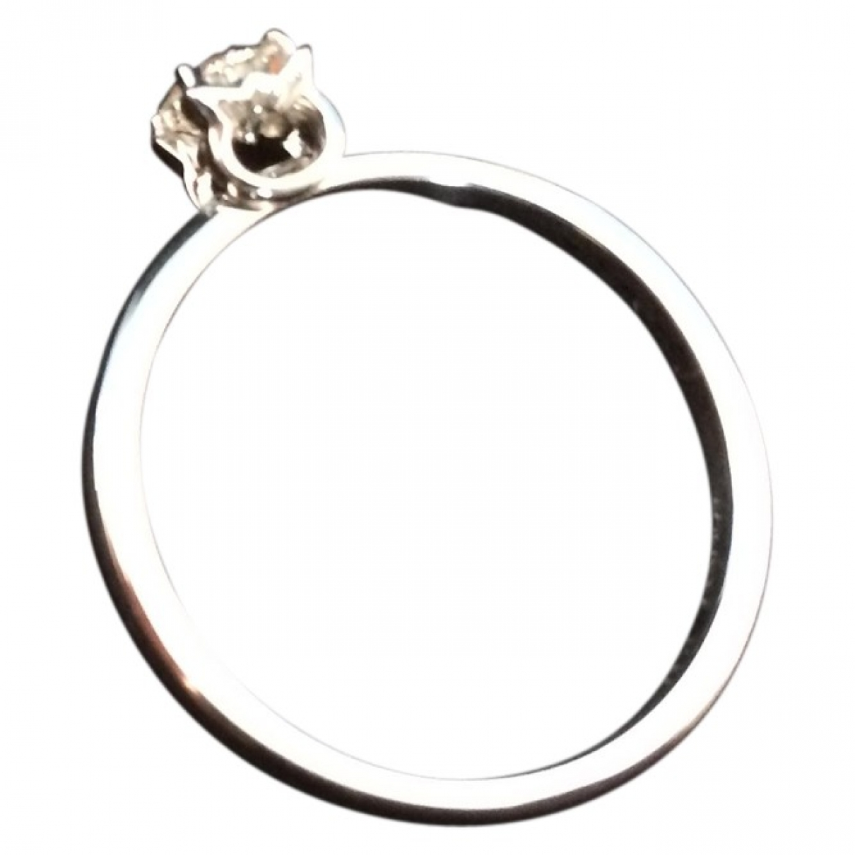 Lalique \N Ring in  Silber Platin