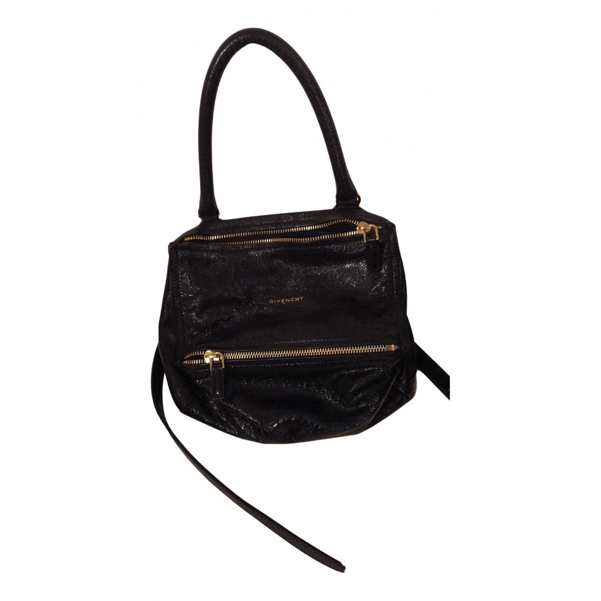 Givenchy Pandora Black Patent leather handbag for Women N