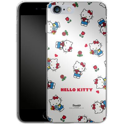 Apple iPhone 6s Plus Silikon Handyhuelle - Hello Kitty Flower Pattern von Hello Kitty