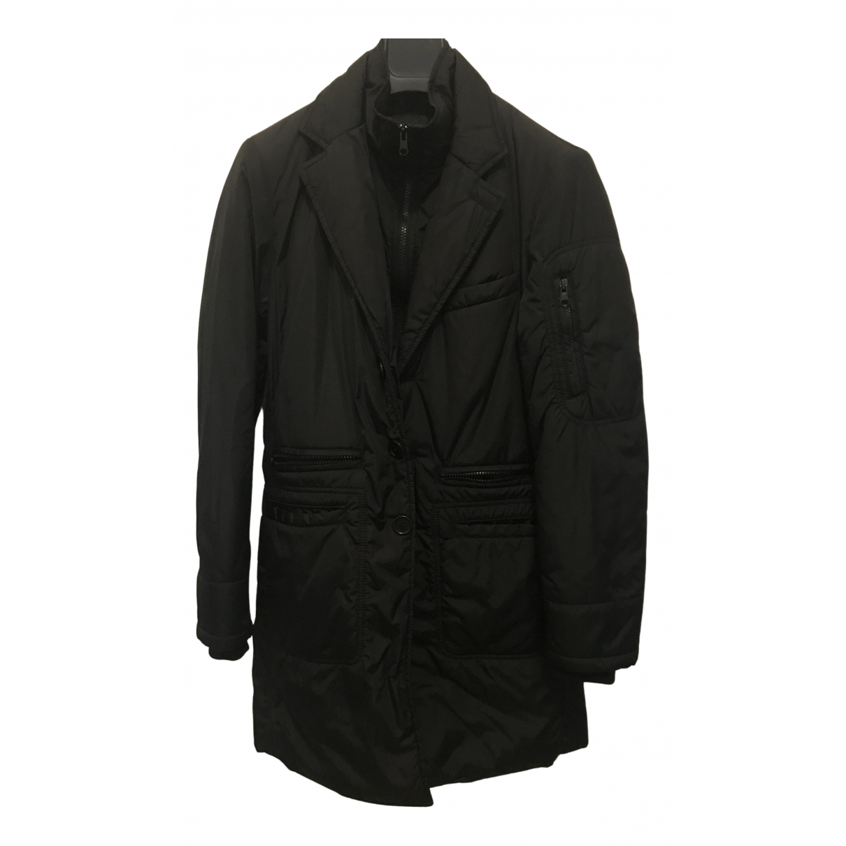 Fay N Black jacket & coat for Kids 12 years - XS FR