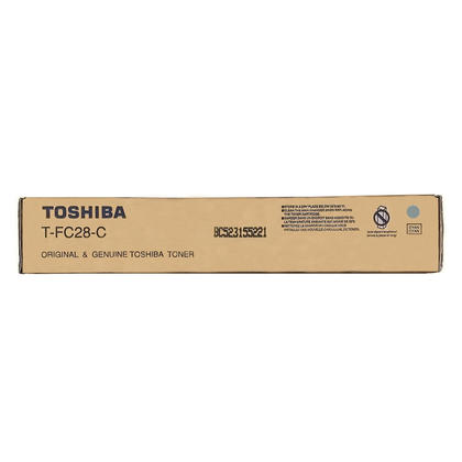 Toshiba T-FC28-C Original Cyan Toner Cartridge