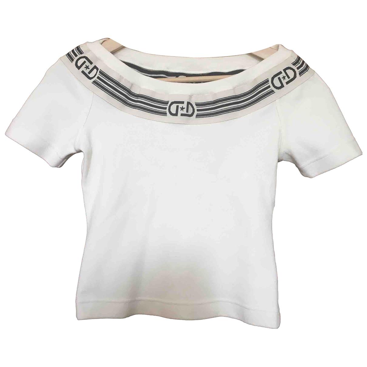 Byblos \N White Cotton  top for Women M International