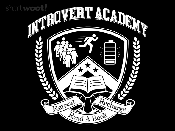 Introvert Academy T Shirt