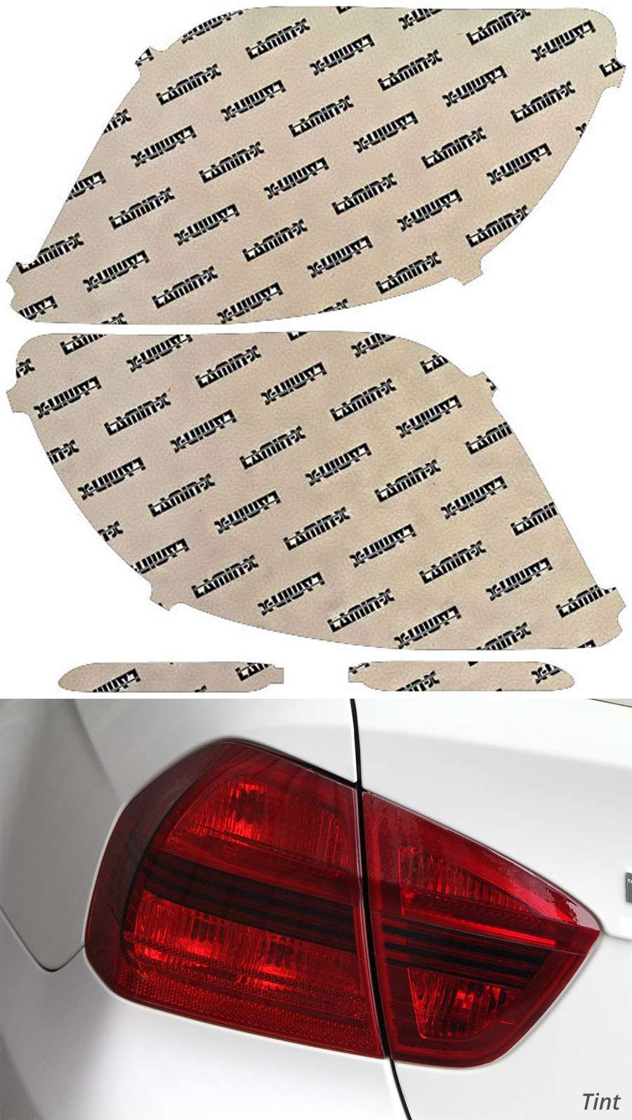 Toyota Matrix 09-14 Tint Tail Light Covers Lamin-X T227T